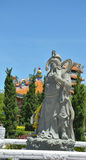 Guan Yu Foto de archivo libre de regalías