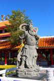 Guan yu beeldhouwwerk stock afbeelding