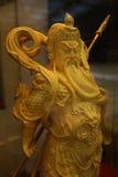 Guan Yu God de honesto imágenes de archivo libres de regalías