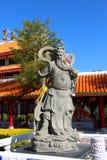 Guan yu sculpture Stock Image