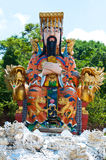Guan Yu statue Royalty Free Stock Photography