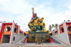 Guan Yu statue Stock Images