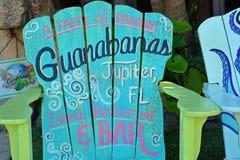 Guanabanas-Restaurant Stockfoto