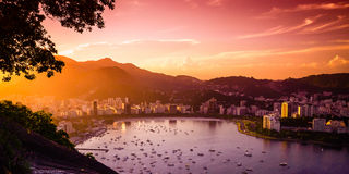 Guanabara Bay Royalty Free Stock Photo
