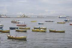 Guanabara bay in Rio de Janeiro, Brazil. Royalty Free Stock Images
