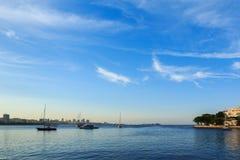 Guanabara bay, Rio de Janeiro Stock Image