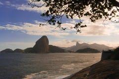 Guanabara fjärd Royaltyfri Foto