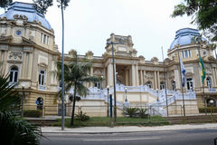 Guanabara Palace headquarters of the Government of the State of Stock Photos