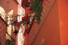 guanajuato亲吻的墨西哥街道 库存照片
