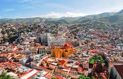 guanajuato墨西哥城镇 免版税库存图片