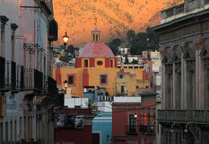 guanajuato墨西哥早晨 库存图片