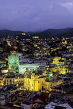 guanajuato墨西哥晚上 免版税图库摄影