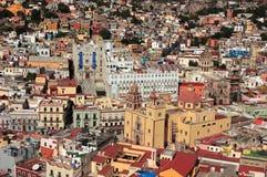 guanajuato有历史的墨西哥城镇科教文组织 免版税库存照片