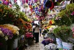Guanajuato, Μεξικό 20 Ιανουαρίου 2017: Αγορά πόλεων στοκ φωτογραφία με δικαίωμα ελεύθερης χρήσης