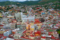 Guanajuato aerial Royalty Free Stock Photo