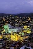Guanajuato alla notte Messico Fotografia Stock Libera da Diritti