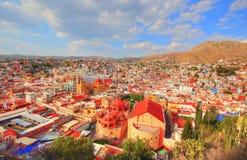Guanajuato, allerta scenica della città Immagini Stock Libere da Diritti