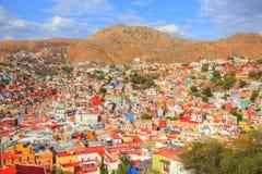 Guanajuato, allerta scenica della città Fotografie Stock