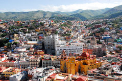 Guanajuato, colorful town. In central Mexico Royalty Free Stock Photography