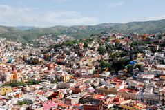 Guanajuato, colorful town, Mexico Royalty Free Stock Image