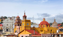 Guanajuato downtown Royalty Free Stock Photo