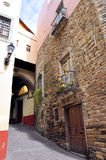 Guanajuato Gasse stockbilder