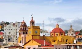 Guanajuato im Stadtzentrum gelegen Lizenzfreies Stockfoto
