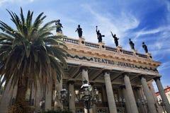 guanajuato juarez墨西哥剧院 免版税库存图片