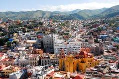 Guanajuato, kleurrijke stad Royalty-vrije Stock Fotografie