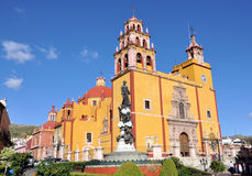 Guanajuato Mexico. Image of the Basilica of our Lady of Guanajuato, this cathedral is the most important church in the city Stock Photos