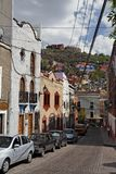 Guanajuato Mexico. A typical quiet street of the colorful Guanajuato, Mexican Colonial Heartland Stock Images