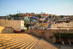 Guanajuato, Mexico. Guanajuato is a city and municipality in central Mexico and the capital of the state of the same name. It is part of the macroregion of Baj royalty free stock photos