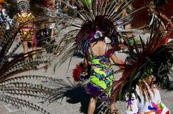 Guanajuato, Mexico-January 22, 2017: Dancers perform for San Joaquin festival Stock Photography