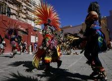 Guanajuato, Mexico-January 22, 2017: Dancers perform for San Joaquin festival Stock Images