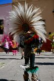 Guanajuato, Mexico-January 22, 2017: Dancers perform for San Joaquin festival Royalty Free Stock Images