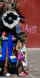 Guanajuato, Mexico-January 22, 2017: Dancers perform for San Joaquin festival Royalty Free Stock Photos