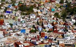 Guanajuato, Mexico-January 10, 2017: Guanajuato city at dusk Royalty Free Stock Photos