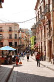 Guanajuato Mexico Tourism. Walking in Guanajuato Tourism Mexico city royalty free stock photo