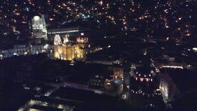 Guanajuato. Night in Guanajuato city Stock Images
