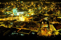 Guanajuato at night- Mexico Royalty Free Stock Photography