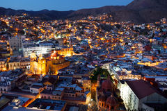Guanajuato nights. Royalty Free Stock Photo