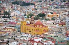 Guanajuato Stadtdetail Lizenzfreie Stockbilder