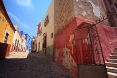 Guanajuato Street Royalty Free Stock Photography