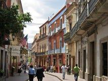 Guanajuato Typical Street Mexico Stock Photography