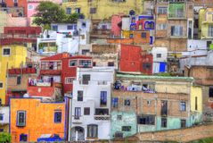 Guanajuato variopinto, Messico Fotografie Stock