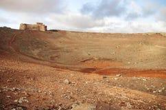 Guanapay volcano crater, Lanzarote Stock Image