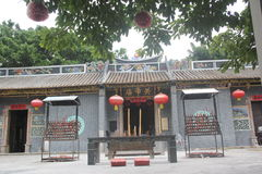 The Guandi Temple in shenzhen,china,Asia Royalty Free Stock Image
