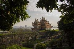 Guando寺庙,台湾 库存图片