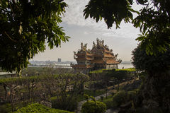 Guando-Tempel, Taiwan Stockbild