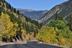 Guanella Pass Scenic Byway Stock Photos